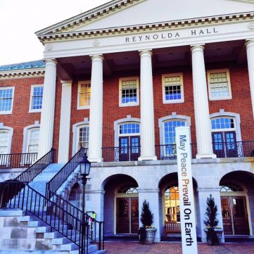Wake Forest University. Study in USA. EducationBro ჟურნალი